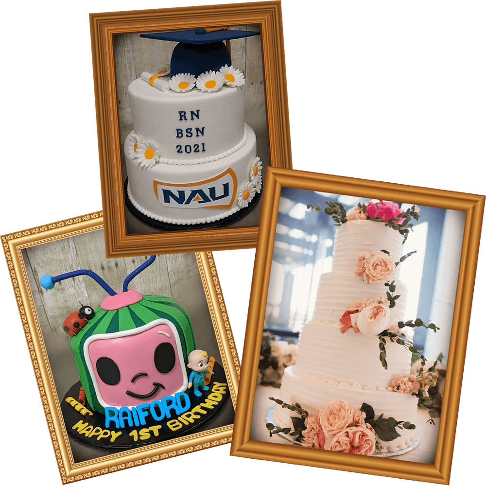 Custom cakes perfect for any occasion or event