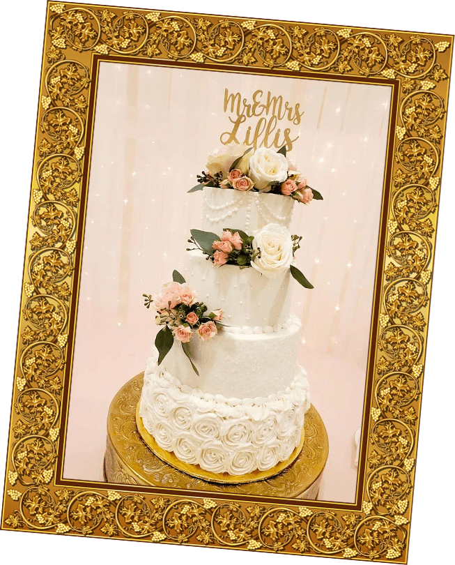 We make perfectly designed wedding cakes for your special day, you can count on us to make your day special